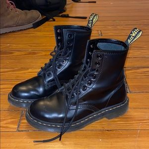 1460 Doc Martens Smooth Leather Lace Up Boots